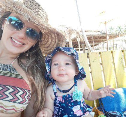 Ana Paula Araújo, mamãe da Alice de 6 meses