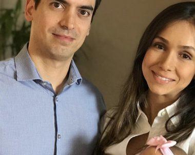 Laura Amorim, mãe da Stella de 3 meses