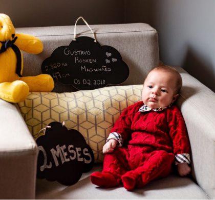 Renata Hosken, Mãe do Gustavo de 2 meses