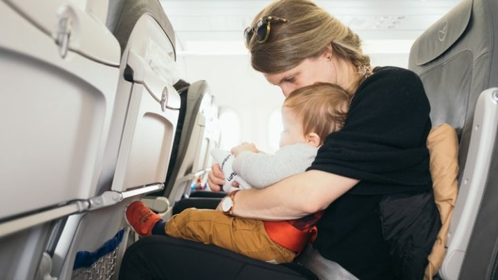 Tips for your baby to sleep on the plane