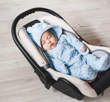 Can my baby sleep in a bassinet or car seat?