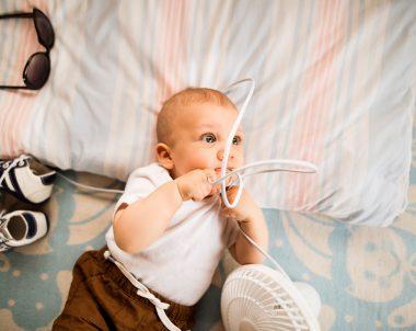 Bebê pode dormir com ventilador ligado?